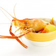 Thai Food Tom Yum Goong, Lobster soup. — Stock Photo #37116743