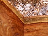 Consistenza del legno per la fabbricazione di mobili — Foto Stock
