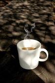 Poranna kawa. — Zdjęcie stockowe