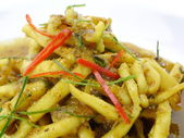 Fried squid curry. Thai food. — Stock Photo