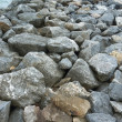 Stock Photo: Stone embankment to prevent waves of sea.