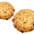 Stock Photo: Oat cookies raisins with wholegrain oats no artificial flavors