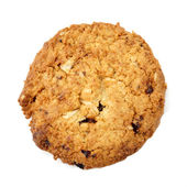 Oat cookies raisins with wholegrain oats no artificial flavors — Stock Photo
