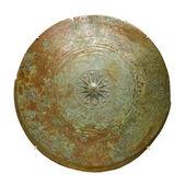 Upper part of bronze kettle drum, Prehistoric period, Metal Age. — Stock fotografie