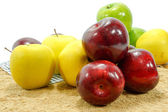 Apple multicolored — Stock Photo