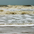 Stock Photo: Sewaves, intensity in monsoon season.