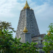 Stock Photo: Mock location Mahabodhi temple, bodh gaya. In Thailand.