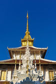Thai temples in Northern Of Thailand. — Stock Photo
