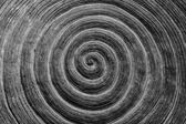 Circular surface image art on the cement floor. — Stok fotoğraf