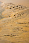 View and details of the sand, Phang Nga - Thailand. — Stock Photo