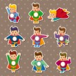 Постер, плакат: Superman stickers
