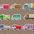 Truck stickers - Stock Vector
