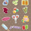 Candy stickers — Stock Vector #12706407