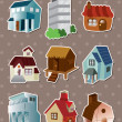 House stickers — Stock Vector #13169564