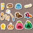 Royalty-Free Stock Vector Image: Pet tool stickers