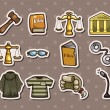 Law stickers — Vettoriale Stock #13821838