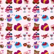Seamless Valentine's Day pattern — Stock Vector #15433571