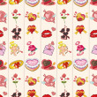 Seamless Valentine's Day pattern — Stock Vector #16763273