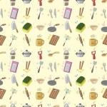Seamless Kitchen pattern — Stock Vector #16853757