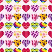 Seamless heart pattern — Stock Vector