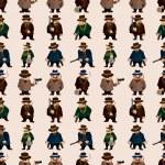 ������, ������: Seamless mafia pattern