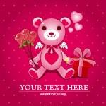 Love Bear — Stock Vector
