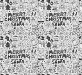 Seamless xmas pattern — Stock Vector