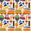Vector de stock : Seamless transport pattern