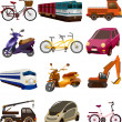 Vetorial Stock : Set of transport icons