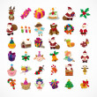 Royalty-Free Stock Vectorielle: Set of Christmas icons
