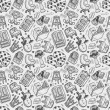 Seamless furniture pattern — Stockvektor #30230471