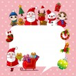 Merry Christmas card,background — Stock Vector #30700663