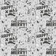 Seamless Doodle Christmas pattern — Stock Vector