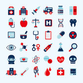 Medical icons set, . — Stok Vektör