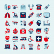 Medical icons set — Stock Vector #34227129