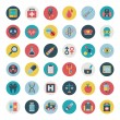 Set of flat Medical icons — Stock Vector #34921755