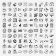 Doodle shopping icons set — Stock Vector #37435389