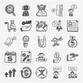 Business icons — Vector de stock