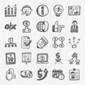 Business icons — Stok Vektör