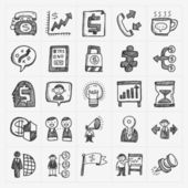Iconos de negocios — Vector de stock