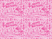 Birthday party pattern — 图库矢量图片