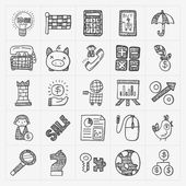 Doodle business icon — Vetorial Stock