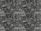 Seamless pattern di Internet web — Vettoriale Stock