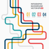 Vector line business template — Vecteur