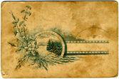 旧纸张纹理 3 — 图库照片