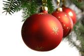 Christmas with the Christmas tree — Stock Photo