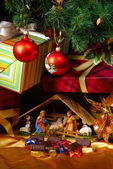 Creche for Christmas — Stock Photo