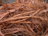 Copper wire — Stockfoto
