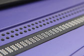 Electronic Braille Display — Stock Photo