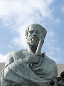 Statue of Aristotle — Stock Photo